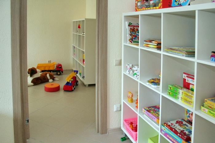 Детей ждут много игрушек и интересной литературы в центре Логопед45
